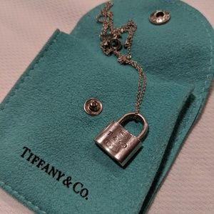 Tiffany & Co. 1837 Lock Pendant Necklace